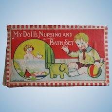 My Doll's Nursing And Bathing Set