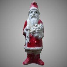 Vintage Irwin Hard Plastic Santa Doll