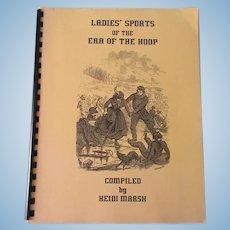Ladies' Sports Of The Era Of The Hoop Book By Heidi Marsh