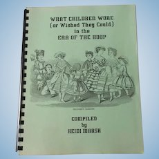 What Children Wore ( Or Wished They Could In The Era Of The Hoop By Heidi Marsh