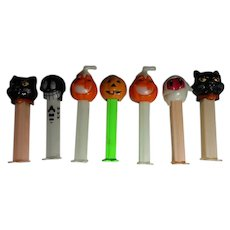 Vintage Halloween Candy Pez Containers