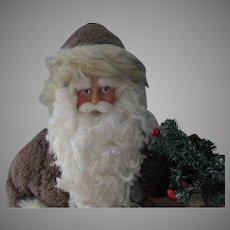 Vintage Artist Folk Art Christmas Santa Doll