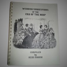 Wedding Suggestions Of The Era Of The Hoop By Heidi Marsh
