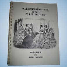 Wedding Suggestions Of The Era Of The Hoop By Heidi Marsh