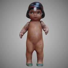 Germany Bisque Indian Doll