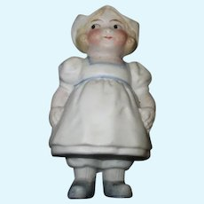Vintage Bisque Holland Type Doll Figure