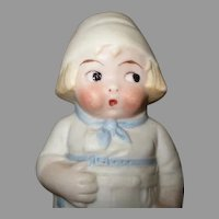 Vintage Bisque Holland Style Doll Figure