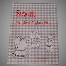 Sewing For Twentieth Century Dolls Book  By Johana Gast Anderton
