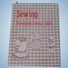 Sewing For Twentieth Century Dolls Book  By Johana Gast Anderton