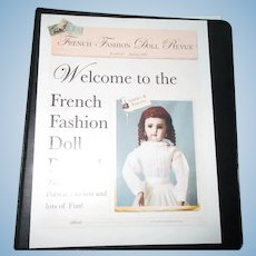 French Fashion Doll Revue Doll Clothes Patterns