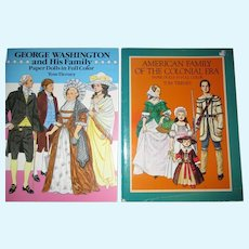 Two Vintage Paper Doll Books By Tom Tierney