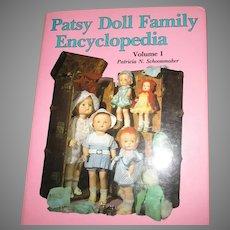 Patsy Doll Family Encyclopedia Volume 1 Book By Patricia N Schoonmaker