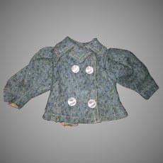 Antique Child's French Style Coat For Your Doll