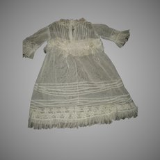Antique Child's Lace Dress For Your Doll