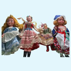 Assorted Group Of Vintage Dolls