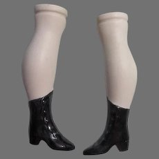 Pair of Bisque Legs For Your Doll