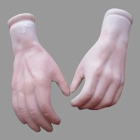 Vintage Bisque Hands For Your Doll