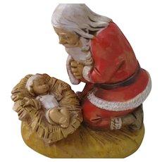 Vintage Fontanini Santa and Baby Jesus