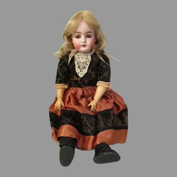 Antique Armand Marseille  Queen Louise Doll.