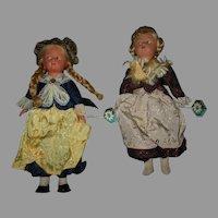 2 Vintage Dolls From Austria