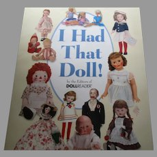 I had That Doll Book By The editors of Doll Reader