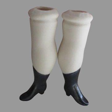 Vintage Bisque doll Legs.