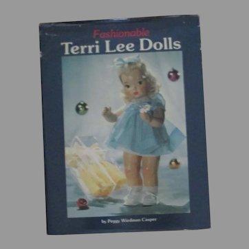 Fashionable Terri Lee Doll Book By Peggy Wiedman Casper
