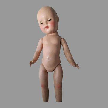 Composition Doll For Repair