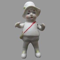 Vintage Made In Japan Bisque Doll.