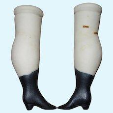 Pair of Vintage Doll Legs