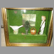 Vintage Shadow Box - Friends of the Forest