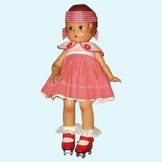 Vintage Effanbee Patsy Hard Plastic Doll - Summer Day