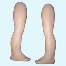 Vintage Doll Bisque Legs.