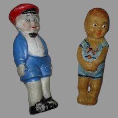 Vintage Bisque And Wax Dolls
