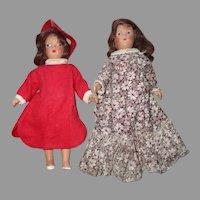 Vintage Composition Dolls.
