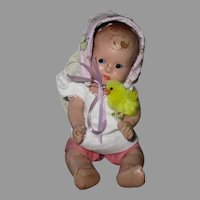Vintage Composition Baby Doll