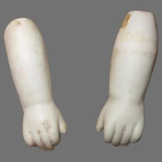 Antique Bisque Hands.