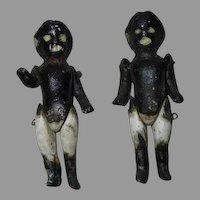 2 Bisque Dolls