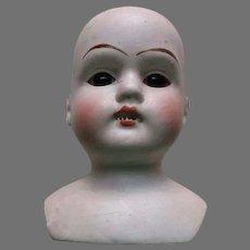 Antique German Doll Head.