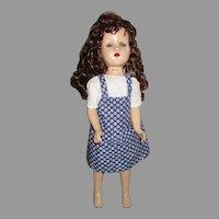 Vintage Composition Doll.