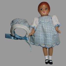 Vintage Effanbee Small Doll