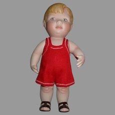 Vintage Artist Bisque Doll.