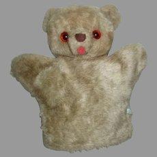 Vintage Mary Meyer Hand Puppet Teddy Bear