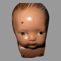 Vintage Composition Baby Doll Head