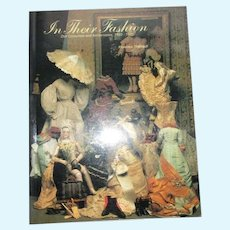 In Their Fashion Doll Costumes and Accessories 1850-1925 Florence Theriault Book