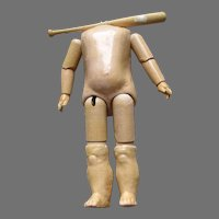 Antique Composition Doll Body For Your Doll.