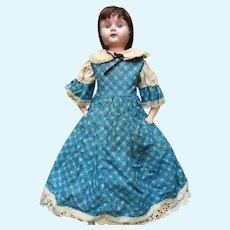 Antique Metal Head  Doll