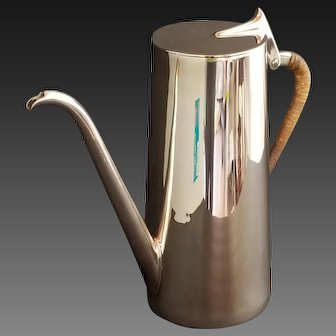 Carl Aubock Mid Century Modernist coffee pot