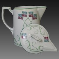 English Arts and Crafts / Art Nouveau  pitcher