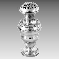 Antique Silver Judaica Besamim Havdalah Box 19th Century